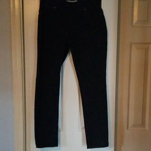 Chico's Platinum Denim Jeggings Sz 0.5